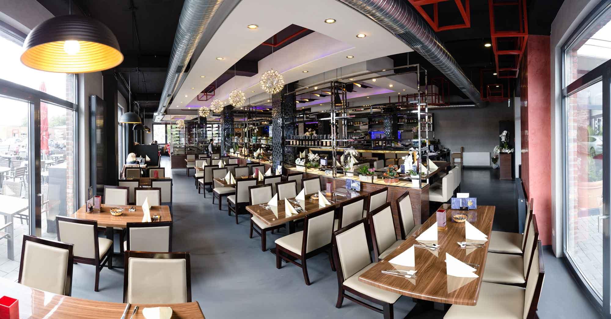 räumlichkeiten - oriental garden restaurant tönisvorst